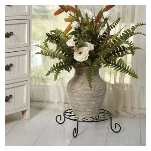 Metal potted plant stand