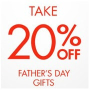 20 Off Father's Day