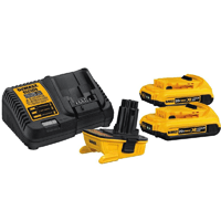 DEWALT battery adapter kit