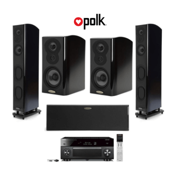 polk-audio-speakers set