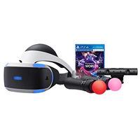 Sony PlayStation VR Worlds Bundle PS4