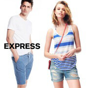 Express Clothing Tees Sale