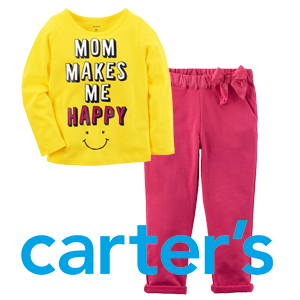 Carters Tees Leggings