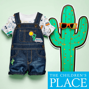 Children's place denim dangri