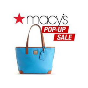 Macy's Popup Bag Sale