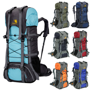 Camping Travel Rucksack Waterproof Backpack
