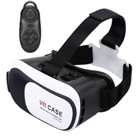 VR Case 3D VR Headset with Remote