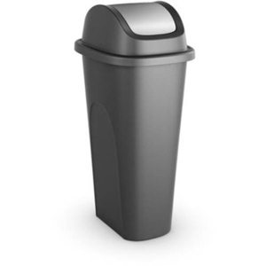 Swing Lid Slim Trashcan