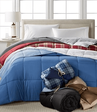 Macy's Home collection comforter