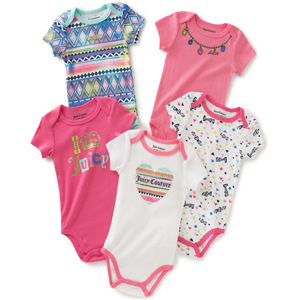 Juicy Couture Baby Bodysuits