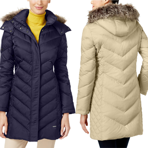 Kenneth Cole Puffer Coat