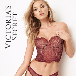 VS Lace bustier