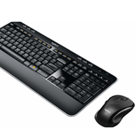 Logistic Wireless keyboard and mouse