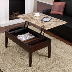 Marble Lift Top Coffee Table
