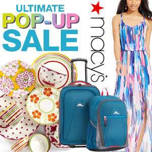 Macy's Pop Up Sale
