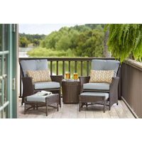 Blue Hill Patio Conversation Set