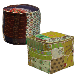 Elements Pouf Ottomans
