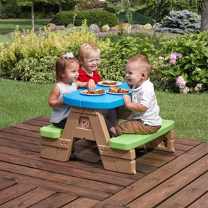 Jr picnic table