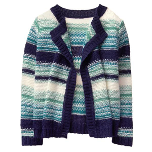 Girls' Blanket Cardigan