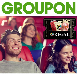 Groupon regal movie