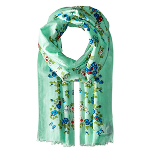 COACH Floral Oblong Scarf